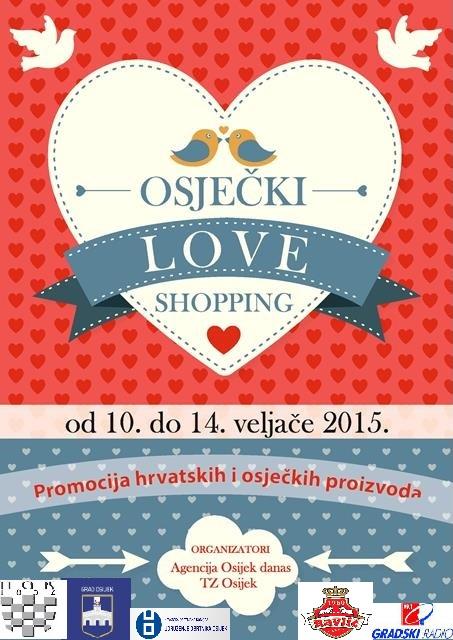osjecki LOVE shopping