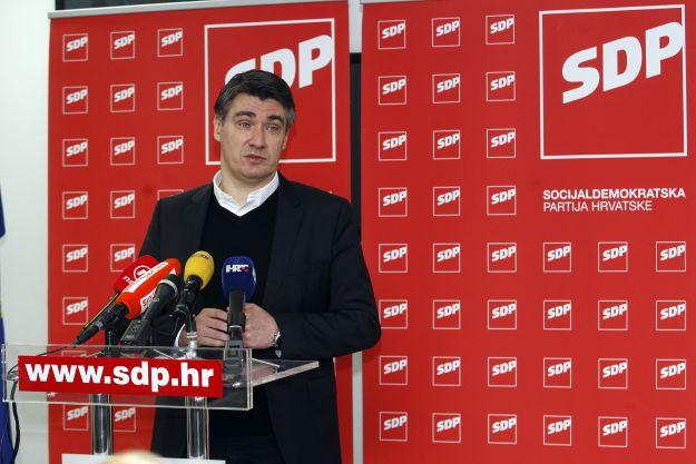 Zagreb, 12.01.2013 - Na Iblerovom trgu odrzana treca sjednica odbora SDP-a